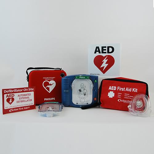 Standard Workplace AED Package: Philips HeartStart OnSite